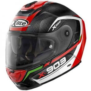 x-lite x-903 ultra carbon Cavalcade crash helmet side view