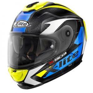 x-lite x-903 ultra carbon nobiles carbon blue yellow side view
