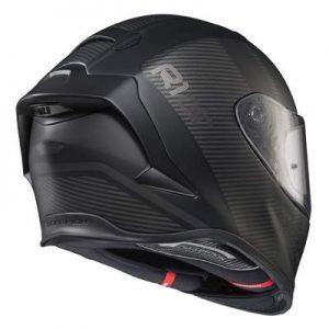 Scorpion Exo R1 Air corpus motogp helmet rear view