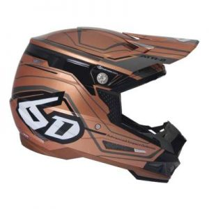6D ATR-2 Circuit motocross helmet side view