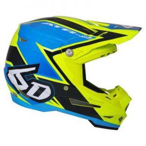 6D ATR-2 Strike motocross helmet side view