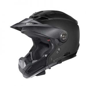 Nolan-N70-2-X-adventure-helmet-no-face-shield-side-view