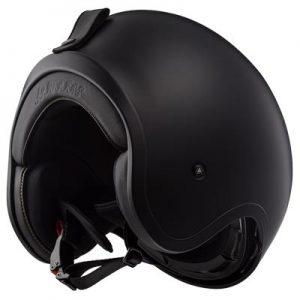 LS2-Spitfire-open-face-crash-helmet-matt-black-bottom-view