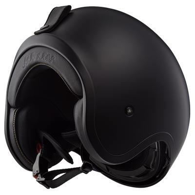 LS2 Helmets Open Face Spitfire Helmet Black Flag Matte - Large