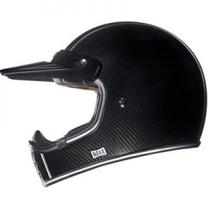 Nexx-XG200-carbon-fiber-retro-motocross-helmet-side-view