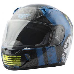 fly racing street revolt fs liberator full face helmet side view