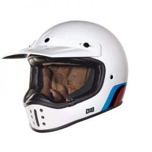 nexx xg200 rok on retro helmet front view