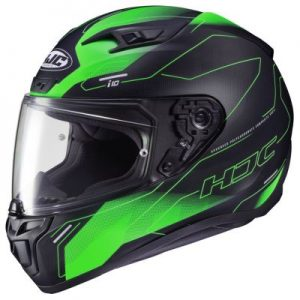 hjc i10 motorcycle helmet taze design side view