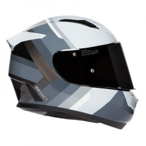 sedici strada II dino motorcycle helmet side view