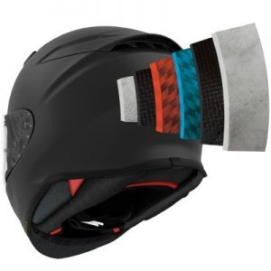 shoei RF-1400 helmet AIM+ construction