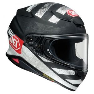 shoei rf-1400 scanner helmet side view
