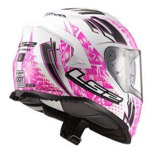 ls2 assault galaxy helmet side rear view