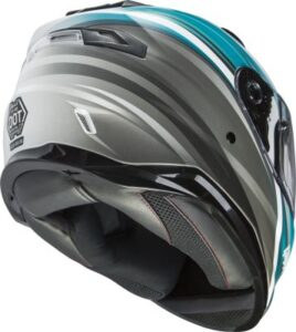 Gmax FF-98 osmosis full face helmet bottom view