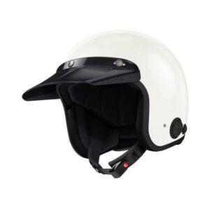 sena savage intercom helmet white long peak