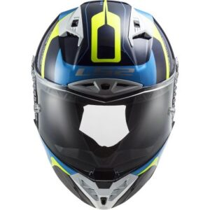 LS2 Thunder Racing 1 track helmet front view