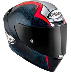 suomy SR-GP Bagnaia rep FIM racing helmet side view