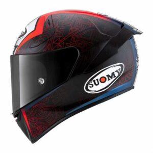 suomy SR-GP FIM racing helmet Bagnaia rep side view