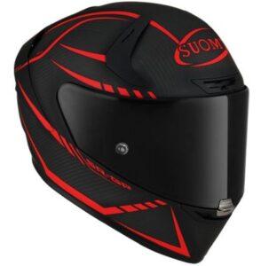 suomy SR-GP carbon supersonic matt racing helmet side view